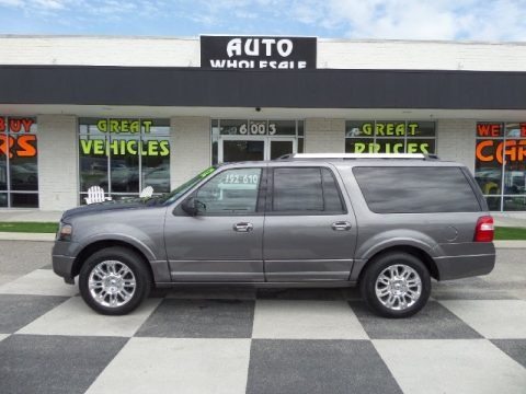 Sterling Gray Metallic 2012 Ford Expedition EL Limited