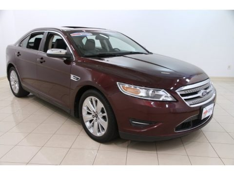 Bordeaux Reserve Red 2011 Ford Taurus Limited