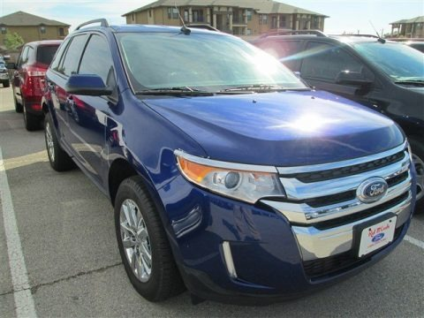 Deep Impact Blue Metallic 2013 Ford Edge SEL