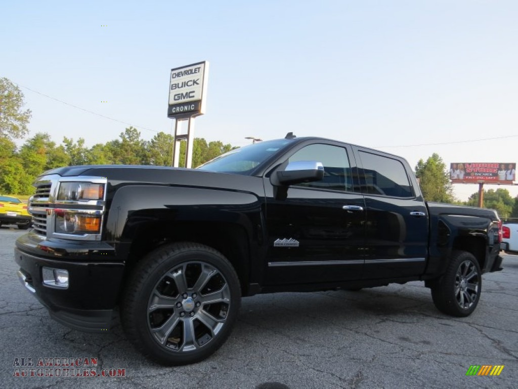 2014 chevrolet silverado 1500 high country crew cab in black photo 3 531595 all american. Black Bedroom Furniture Sets. Home Design Ideas