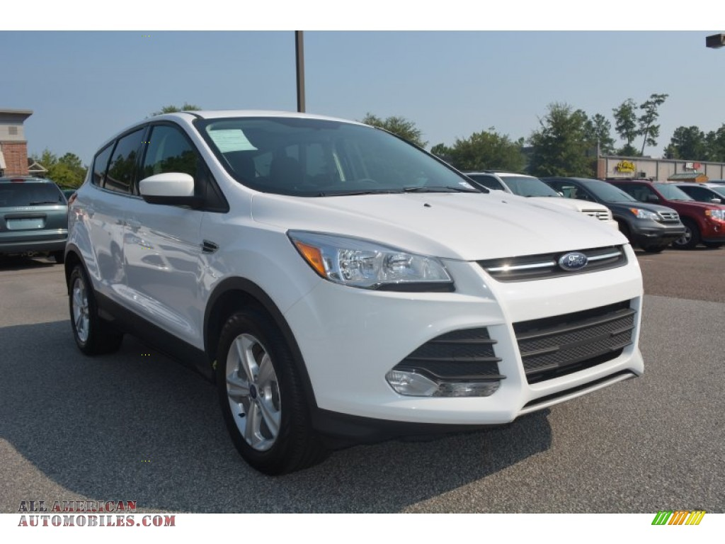 2014 ford escape se 1 6l ecoboost in oxford white c00318 all american automobiles buy. Black Bedroom Furniture Sets. Home Design Ideas