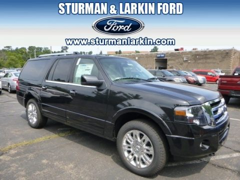 Tuxedo Black 2014 Ford Expedition EL Limited 4x4