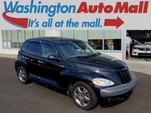 Black 2001 Chrysler PT Cruiser Limited