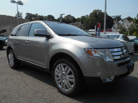 Vapor Silver Metallic 2008 Ford Edge Limited AWD