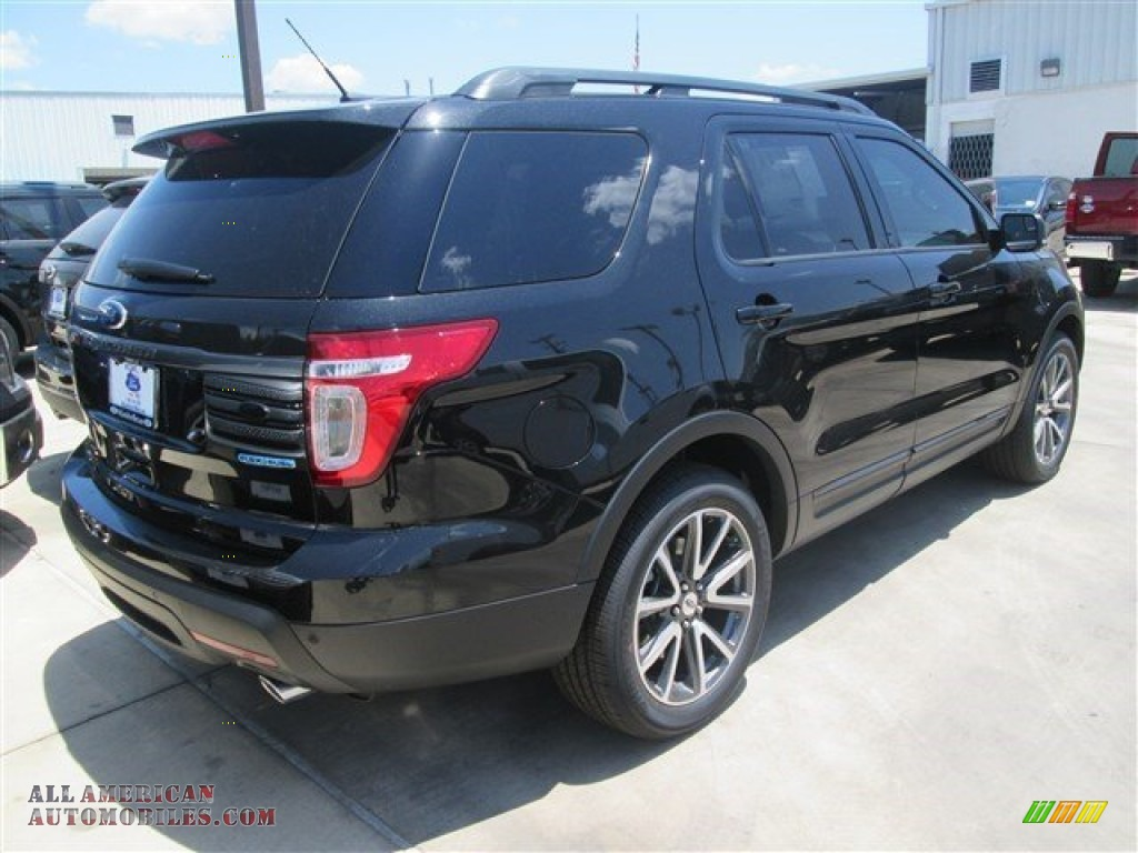2015 ford explorer xlt in tuxedo black a33437 all american automobiles buy american cars. Black Bedroom Furniture Sets. Home Design Ideas