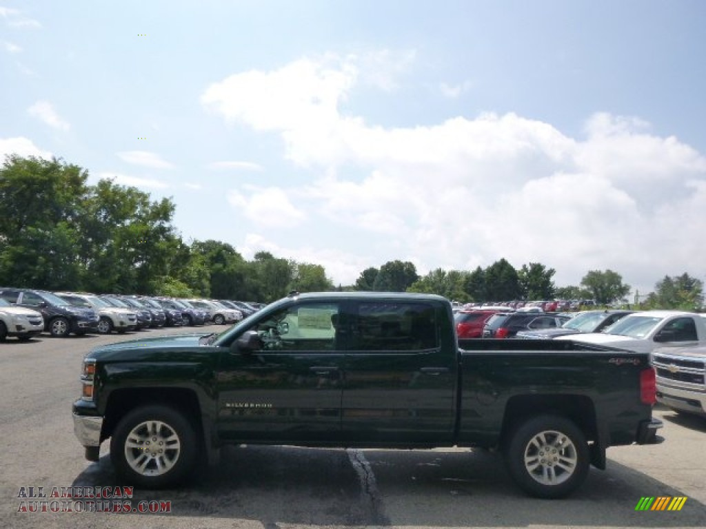 2014 chevrolet silverado 1500 lt crew cab 4x4 in rainforest green metallic 531824 all. Black Bedroom Furniture Sets. Home Design Ideas