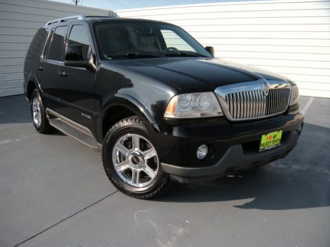 Black 2005 Lincoln Aviator Luxury