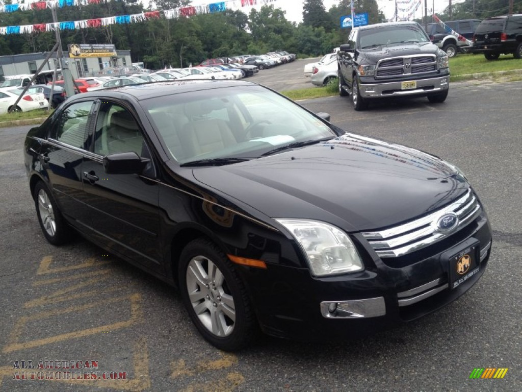 2006 ford fusion sel v6 in black photo 5 240463 all american automobiles buy american. Black Bedroom Furniture Sets. Home Design Ideas