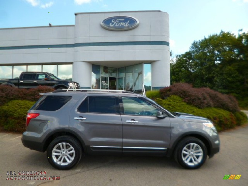 2013 ford explorer xlt 4wd in sterling gray metallic c78667 all american automobiles buy. Black Bedroom Furniture Sets. Home Design Ideas