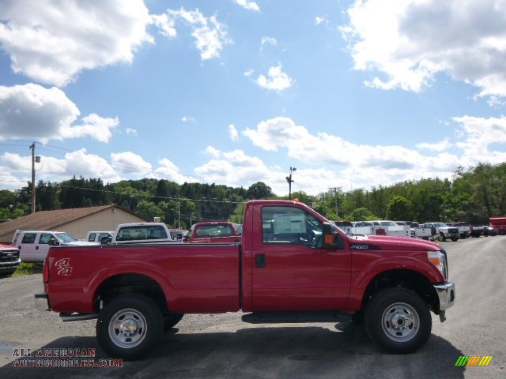 2015 ford f350 super duty xl regular cab 4x4 in vermillion red a89647 all american. Black Bedroom Furniture Sets. Home Design Ideas