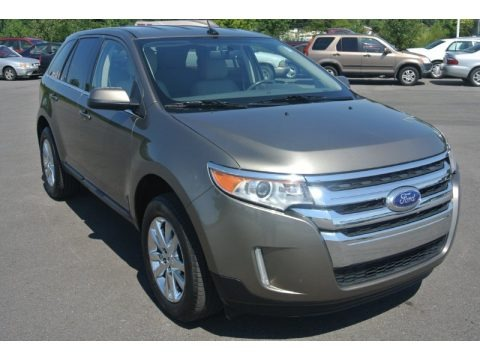 Mineral Gray Metallic 2013 Ford Edge Limited