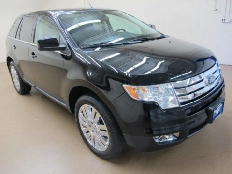 Black 2008 Ford Edge Limited AWD