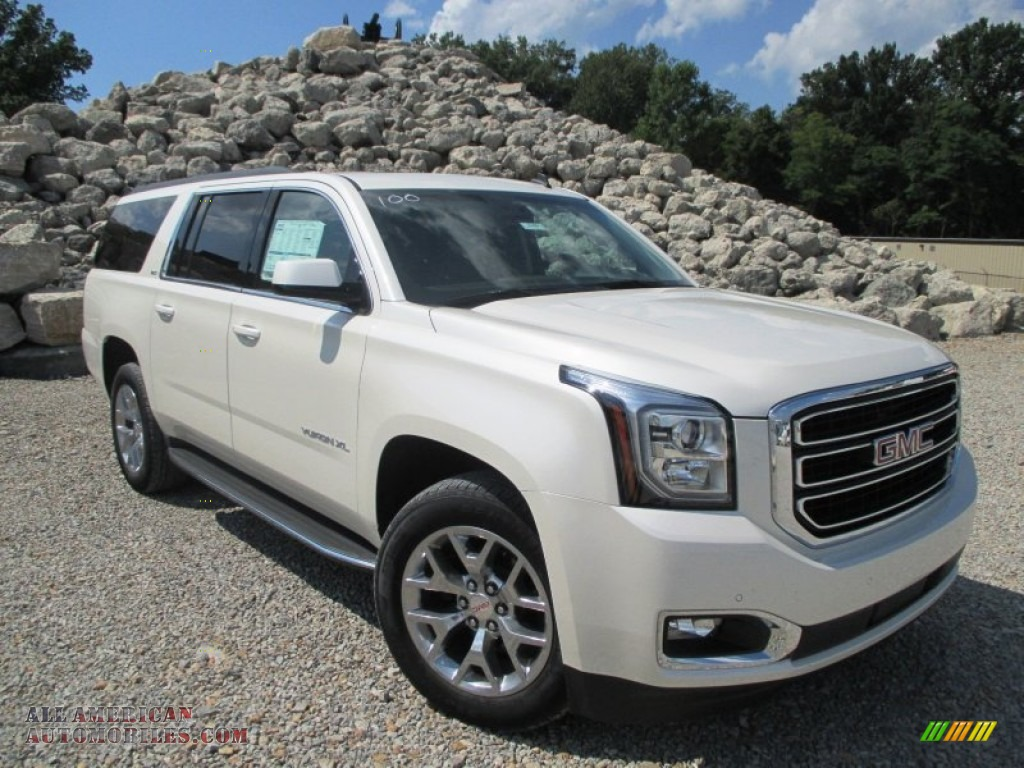 2015 gmc yukon xl slt 4wd in white diamond tricoat photo 11 196125 all american automobiles. Black Bedroom Furniture Sets. Home Design Ideas