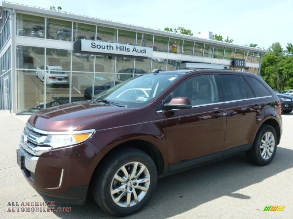 2012 ford edge limited awd in cinnamon metallic a90912. Black Bedroom Furniture Sets. Home Design Ideas