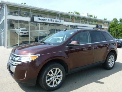 Cinnamon Metallic 2012 Ford Edge Limited AWD