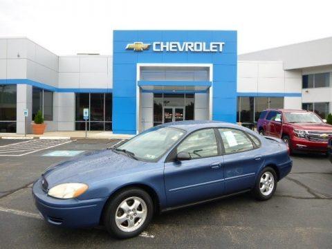 True Blue Metallic 2004 Ford Taurus SES Sedan
