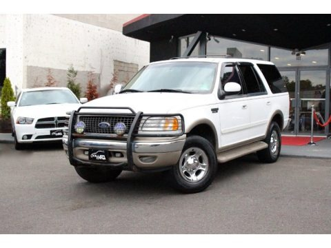 Oxford White 2000 Ford Expedition Eddie Bauer 4x4