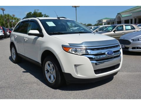 White Suede 2013 Ford Edge SEL