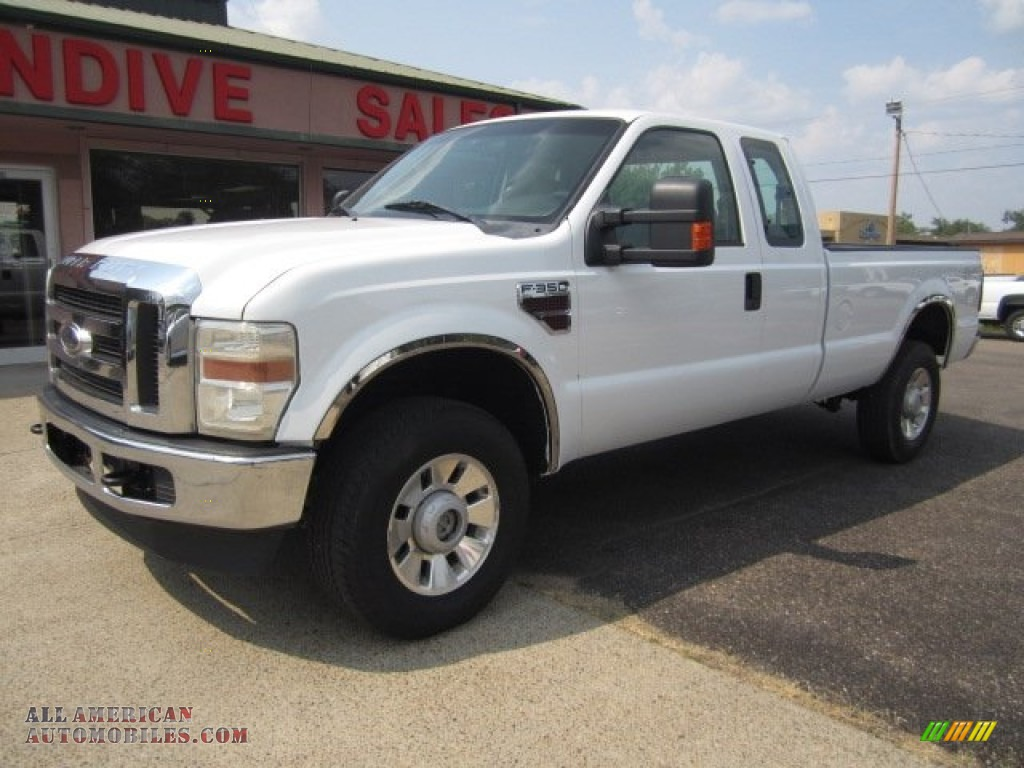 2008 ford f350 super duty xlt supercab 4x4 in oxford white d69836 all american automobiles. Black Bedroom Furniture Sets. Home Design Ideas