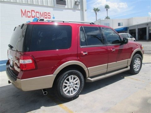 Ruby Red 2014 Ford Expedition XLT
