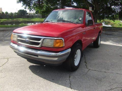 Toreador Red Metallic 1997 Ford Ranger XLT Regular Cab