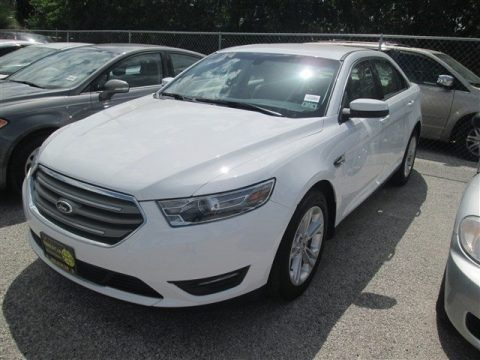 Oxford White 2014 Ford Taurus SEL