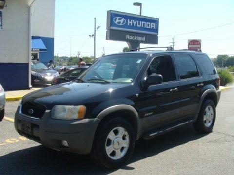 Black 2001 Ford Escape XLT V6 4WD