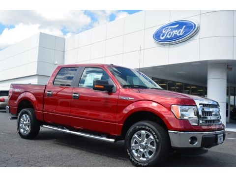 Ruby Red 2014 Ford F150 XLT SuperCrew 4x4