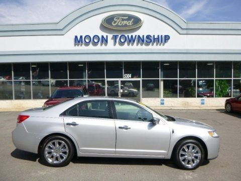 Ingot Silver Metallic 2011 Lincoln MKZ AWD