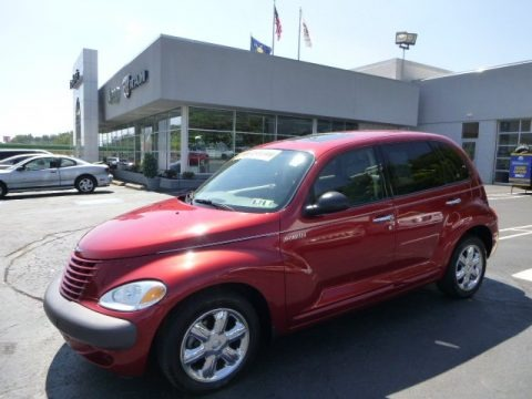 Inferno Red Pearlcoat 2002 Chrysler PT Cruiser Limited