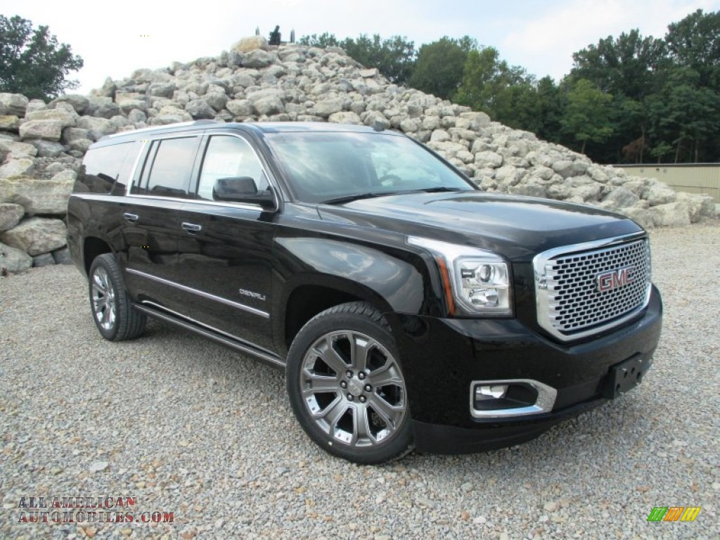 2015 gmc yukon xl denali 4wd in onyx black photo 41 250296 all american automobiles buy. Black Bedroom Furniture Sets. Home Design Ideas