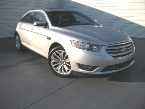 Ingot Silver Metallic 2013 Ford Taurus Limited