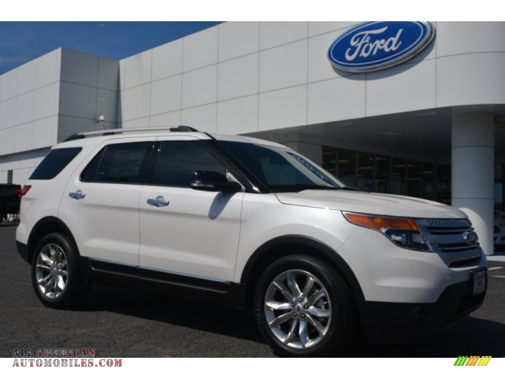 2015 ford explorer xlt in white platinum a31426 all american automobiles buy american cars. Black Bedroom Furniture Sets. Home Design Ideas