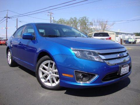 Blue Flame Metallic 2011 Ford Fusion SEL