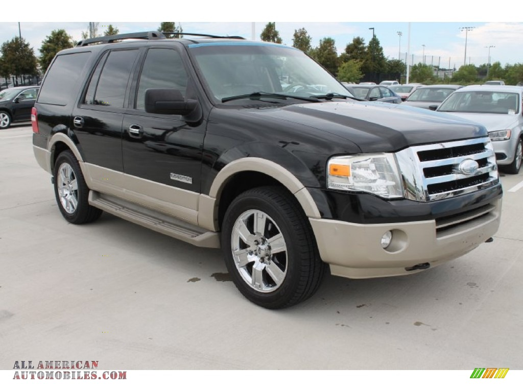 ford expedition eddie bauer   black   american automobiles buy american