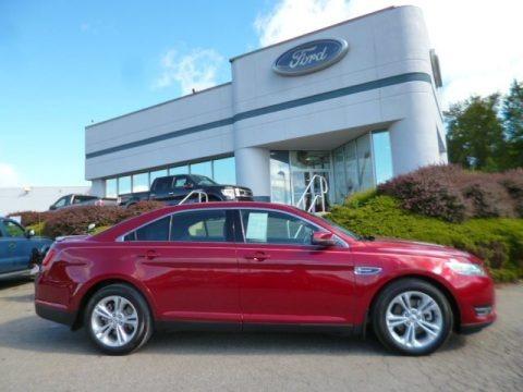 Ruby Red Metallic 2013 Ford Taurus SEL AWD