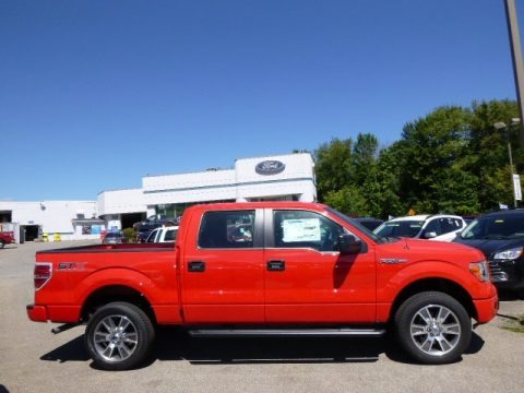 Race Red 2014 Ford F150 STX SuperCrew 4x4