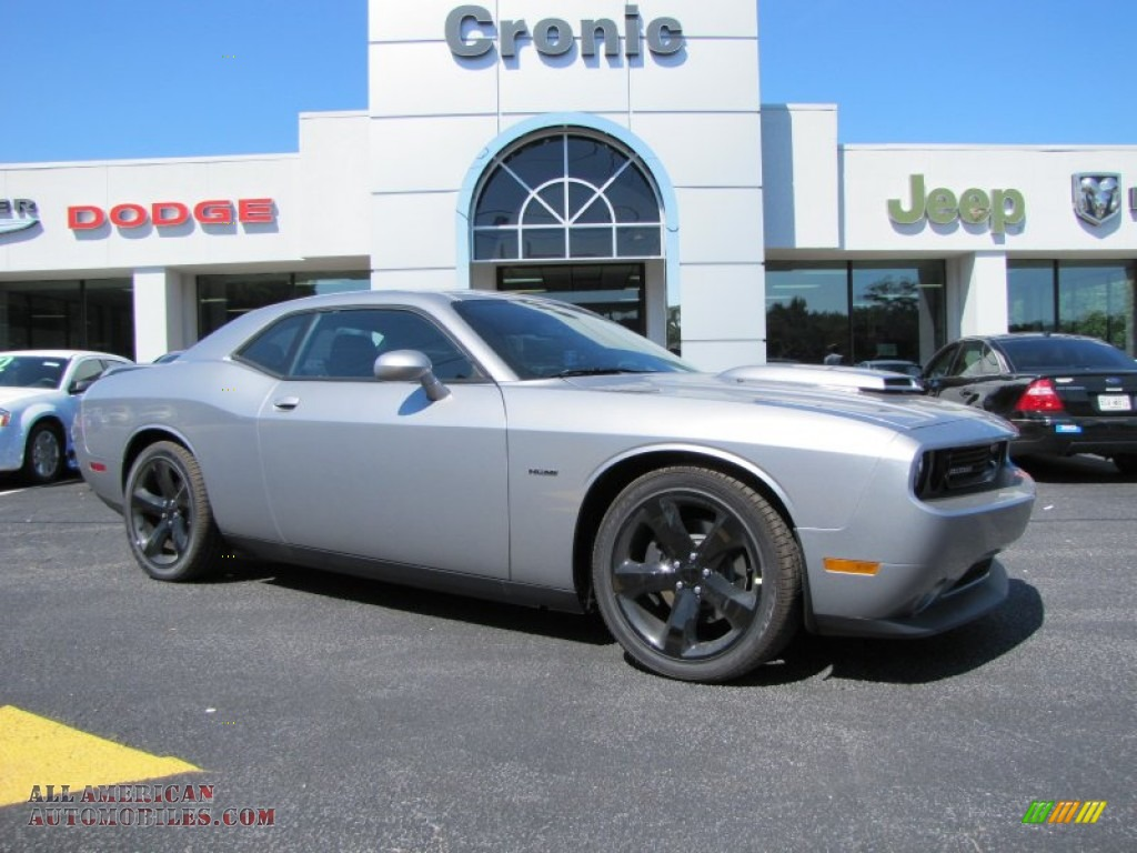 Ron Lewis Dodge >> 2014 Dodge Challenger R/T Blacktop in Billet Silver Metallic - 306396 | All American Automobiles ...