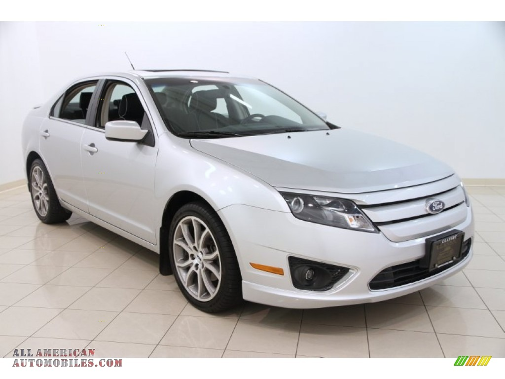 2012 ford fusion se in ingot silver metallic 114296 all american automobiles buy american. Black Bedroom Furniture Sets. Home Design Ideas