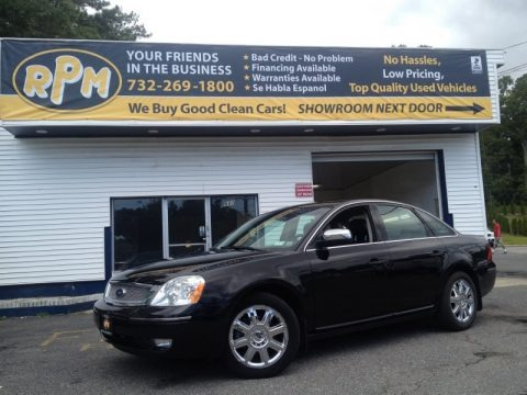 Black 2007 Ford Five Hundred Limited AWD