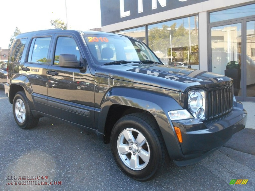 Jeep White Plains >> 2010 Jeep Liberty Sport 4x4 in Dark Charcoal Pearl - 159564 | All American Automobiles - Buy ...