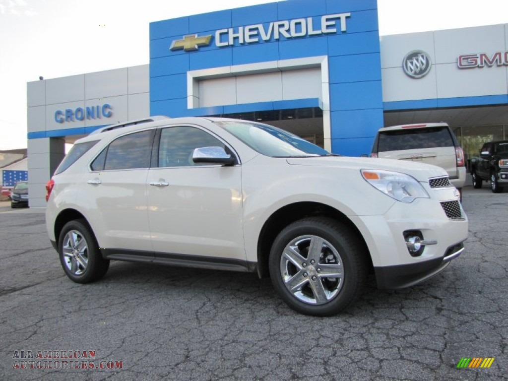 2015 chevrolet equinox ltz in white diamond tricoat 100977 all american automobiles buy. Black Bedroom Furniture Sets. Home Design Ideas