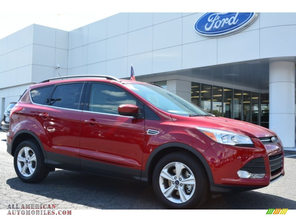 2014 ford escape se 1 6l ecoboost 4wd in ruby red d48735 all american automobiles buy. Black Bedroom Furniture Sets. Home Design Ideas