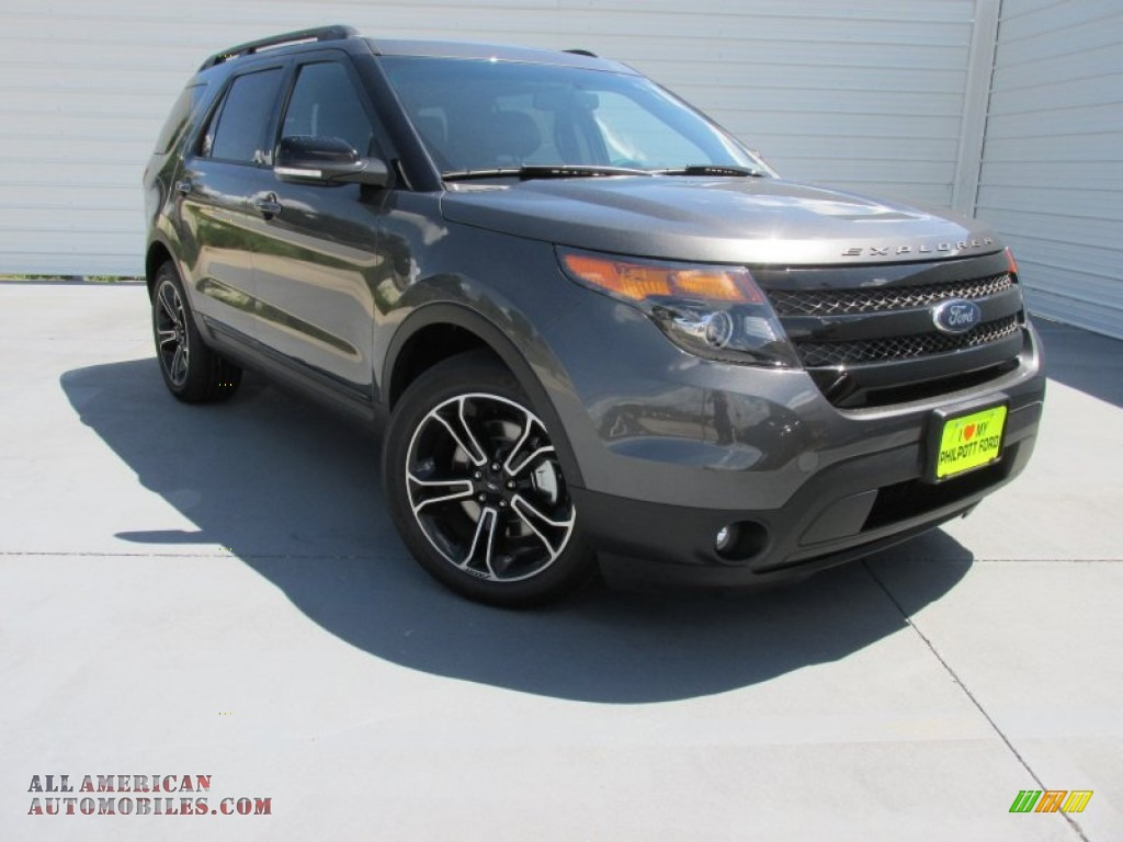 2015 ford explorer sport 4wd in magnetic a45394 all american automobiles buy american cars. Black Bedroom Furniture Sets. Home Design Ideas