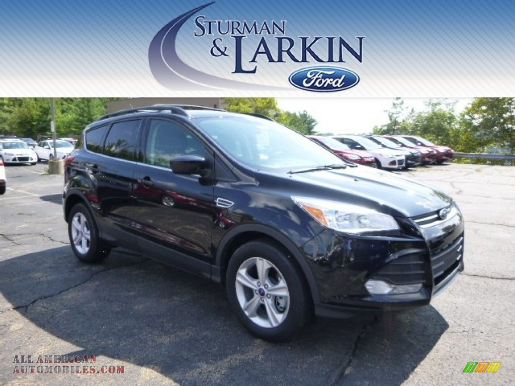 2014 ford escape se 1 6l ecoboost 4wd in tuxedo black a60102 all american automobiles buy. Black Bedroom Furniture Sets. Home Design Ideas