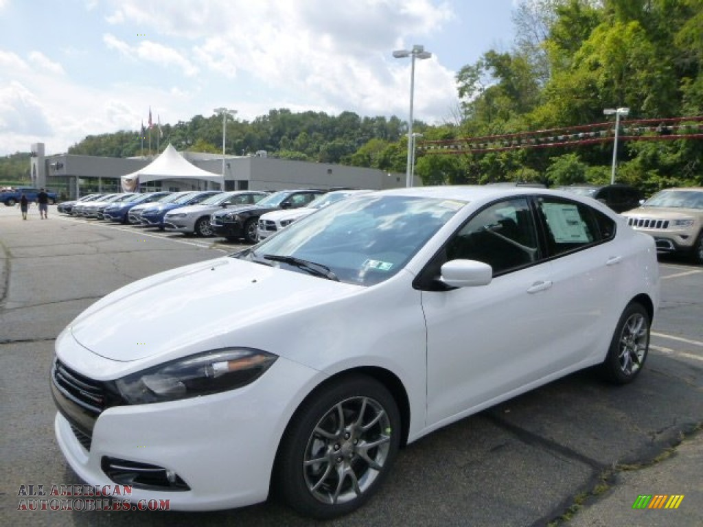 Ron Lewis Jeep >> 2015 Dodge Dart Rallye in Bright White - 123228 | All American Automobiles - Buy American Cars ...