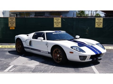 Centennial White 2005 Ford GT
