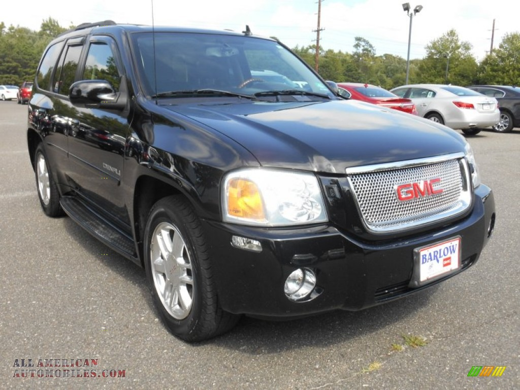 2007 gmc envoy denali 4x4 in onyx black 247381 all. Black Bedroom Furniture Sets. Home Design Ideas