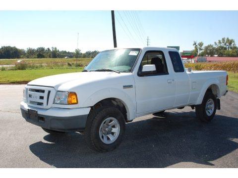 Oxford White 2006 Ford Ranger XL SuperCab
