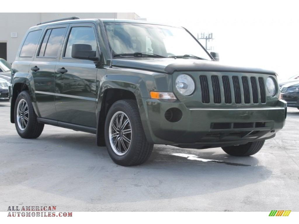 2008 Jeep Patriot Sport In Jeep Green Metallic 540413
